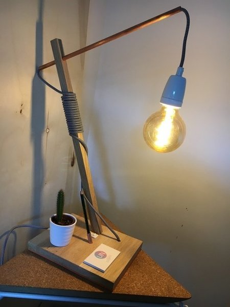 Lampe de bureau -Vous avez terminé !