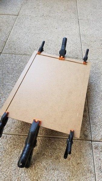Disjoncteur Frankenstein-Création de la boite et peinture