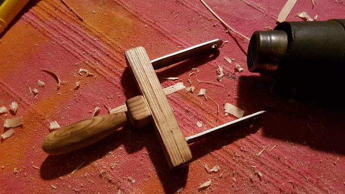 Disjoncteur Frankenstein-Création de l'interrupteur couteau