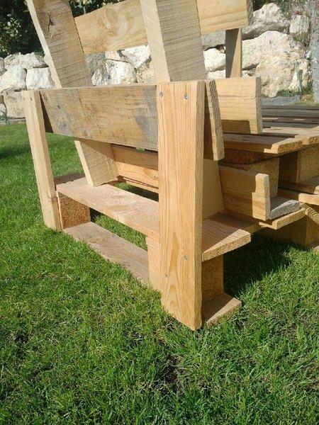 Un fauteuil tout en palette ...-Assemblage :