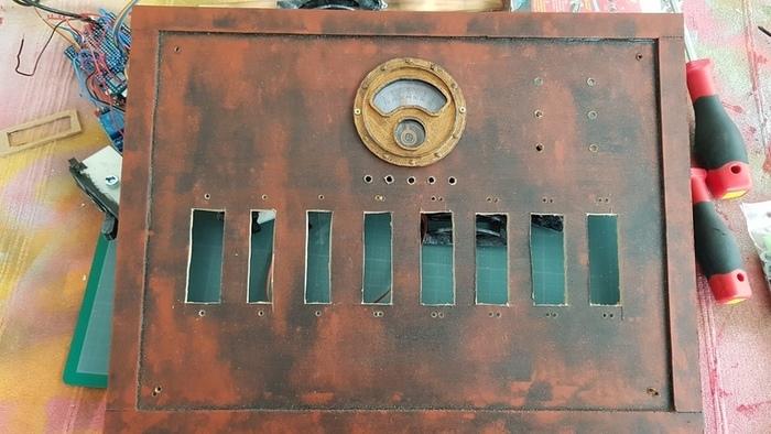 Disjoncteur Frankenstein-Assemblage des accessoires