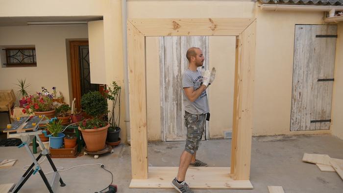 Fabriquer une fontaine de jardin en forme d'arche -Quelques passages de la vidéo