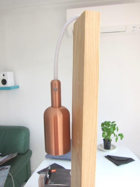 Fabriquer une lampe design-Branchements