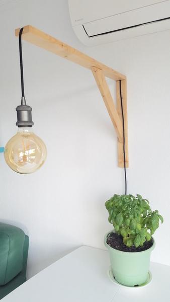 Fabriquer une lampe design-Le titre de votre étape ici