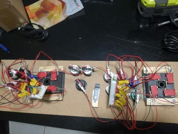 Borne d'arcade retrogaming slim  -II - L'électronique
