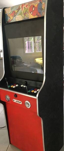 Borne d'arcade retrogaming slim  -III - La décoration