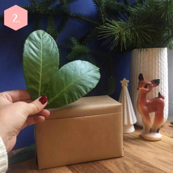 Paquet cadeau Nature : deux façons !-Le cadeau enfant