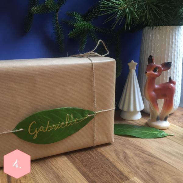 Paquet cadeau Nature : deux façons !-Le cadeau adulte