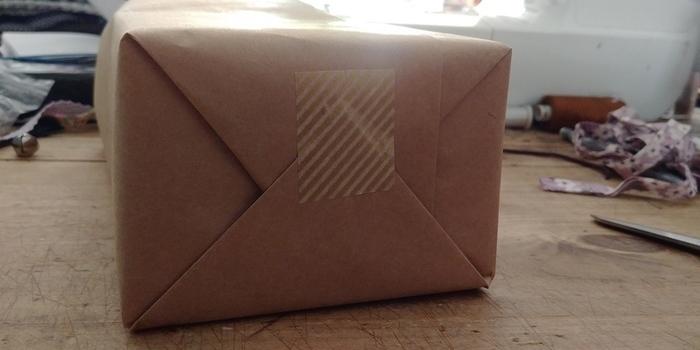 "Emballage cadeau ""Forêt de sapins""-Emballage"