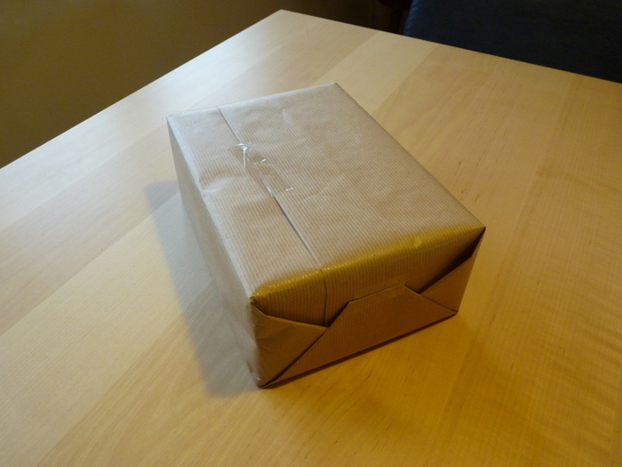 "Emballage cadeau ""Tout nature""-l'emballage"