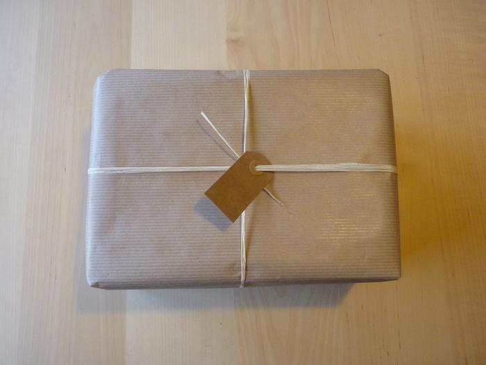 "Emballage cadeau ""Tout nature""-le rafia"