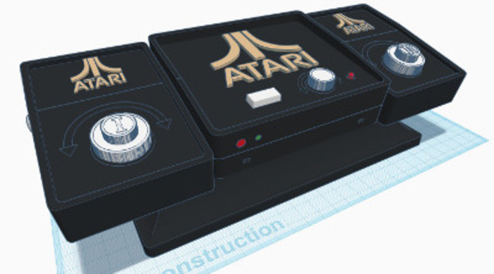 ATARI PONG-Le Design :