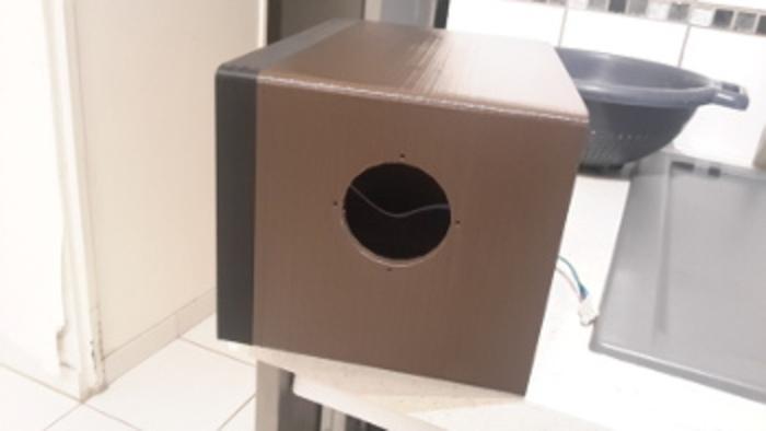 MINI TV Rétro-Assemblage global et test capot ouvert