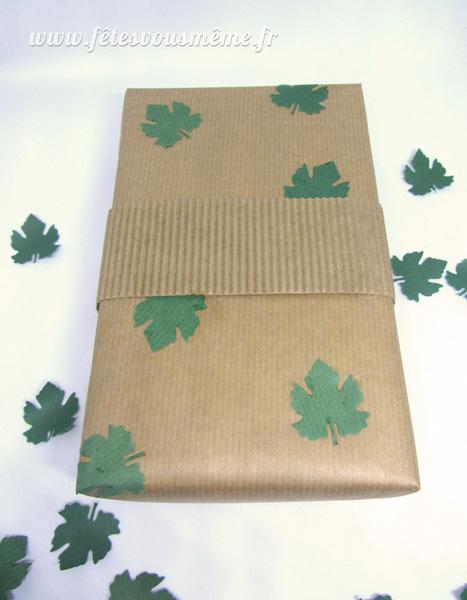Papier cadeau Inspiration Nature-Le titre de votre étape ici