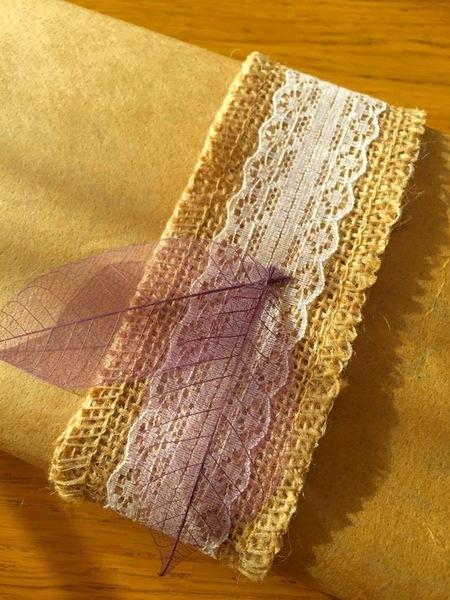 Emballage cadeau nature-Décoration nature du paquet 1