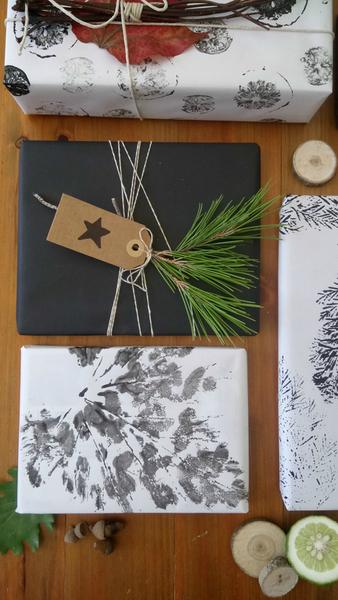 DIY : Emballage cadeau nature-L'emballage