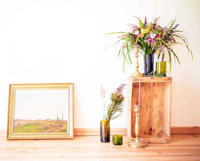 DIY vases en bouteilles de vin coupées et upcyclées-Taaaddaaa !