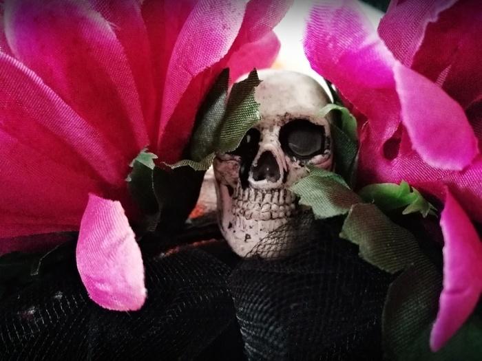 DIY Halloween : un serre-tête Dia de los Muertos -Collez