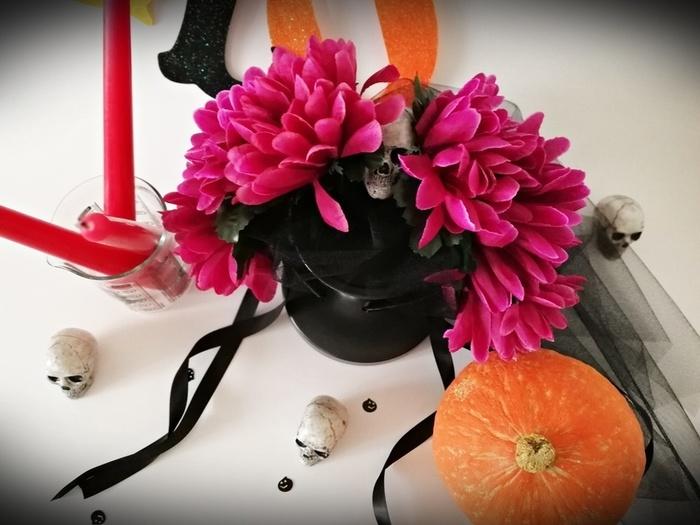 DIY Halloween : un serre-tête Dia de los Muertos -Le résultat : tada !