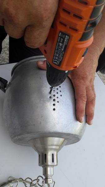 LUSTRE COUSCOUSSIER Fait (2)main(s) -Ajourer la suspension