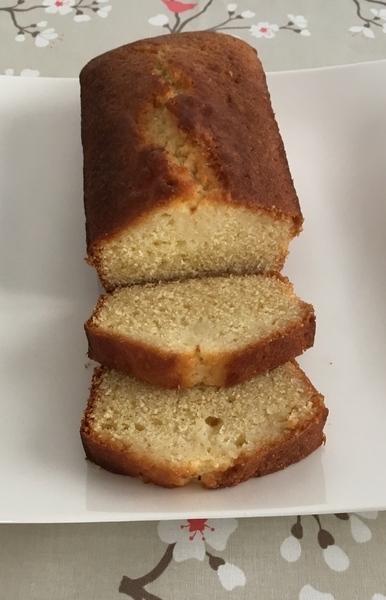 Cake moelleux au citron -Le titre de votre étape ici