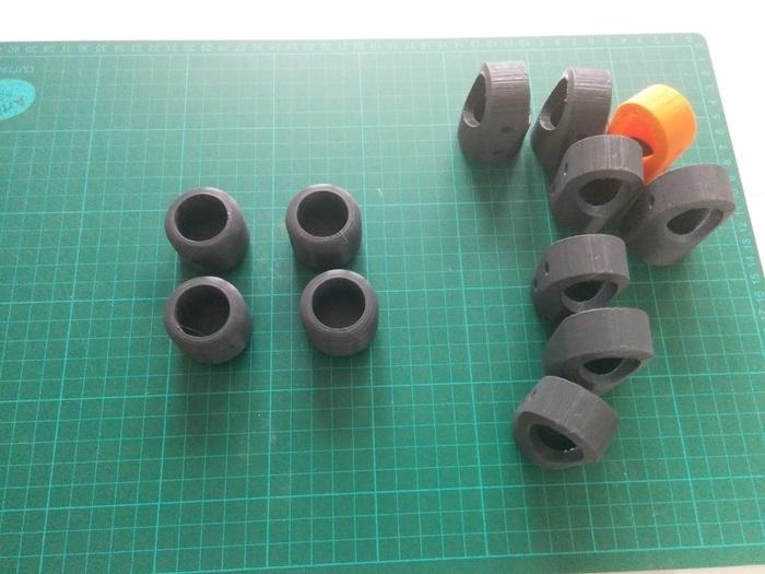 Echelle porte serviettes en tube PVC et impression 3D-Impression