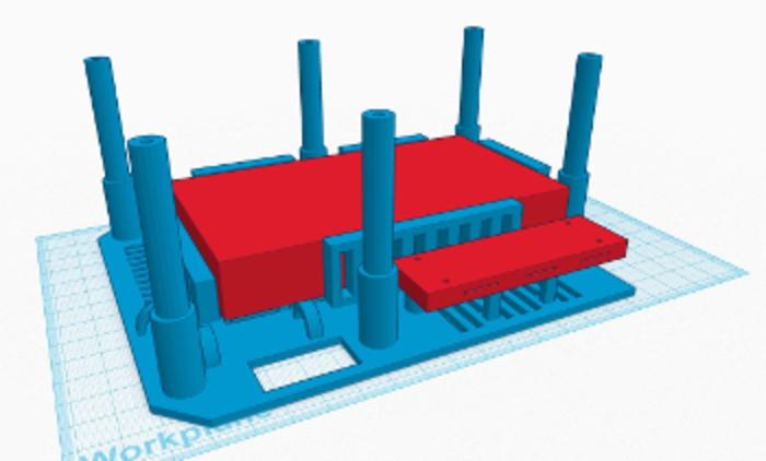 Minitel Arcade-La structure
