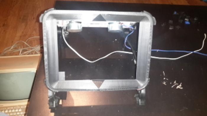 Minitel Arcade-L'écran
