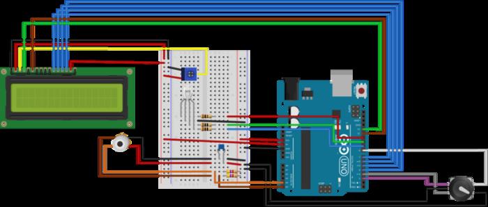 Réaliser des photos thermiques à partir d'Arduino-Encodeur