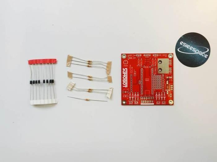 Fabriquer un robot SumoBot v4.0 (obsolète)-Soudage des diodes