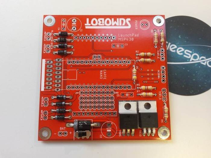 Fabriquer un robot SumoBot v4.0 (obsolète)-Soudage des régulateurs de tension