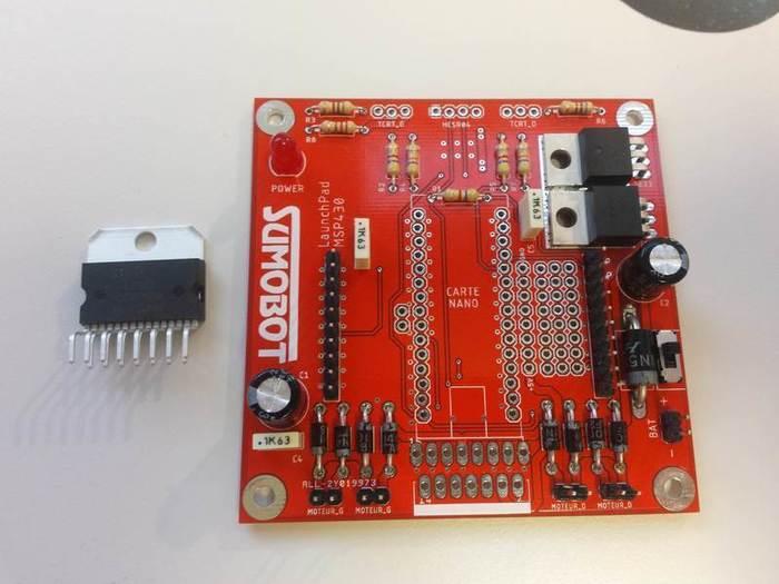 Fabriquer un robot SumoBot v4.0 (obsolète)-Soudage du pont en H