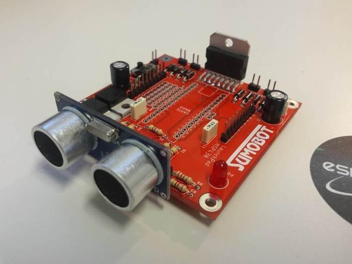 Fabriquer un robot SumoBot v4.0 (obsolète)-Soudage du capteur ultrason