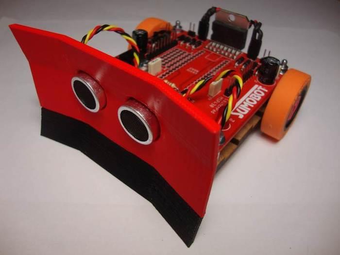 Fabriquer un robot SumoBot v4.0 (obsolète)-Assemblage et fixation de la pelle
