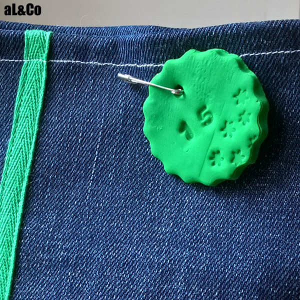 Calendrier de l'avent en jean upcyclé-Les 24 étiquettes