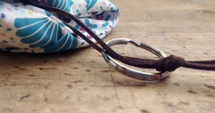 Un porte clefs malin-Assemblage