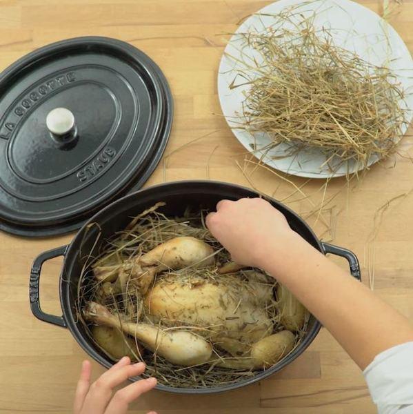 Délicieux poulet fumé maison -À table !