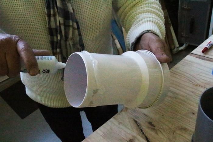 Nettoyeur de rouleau de peinture-Fabrication du corps principal