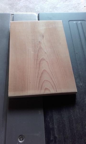 Tablette d'appoint en bois pour canapé-Tablette supérieure