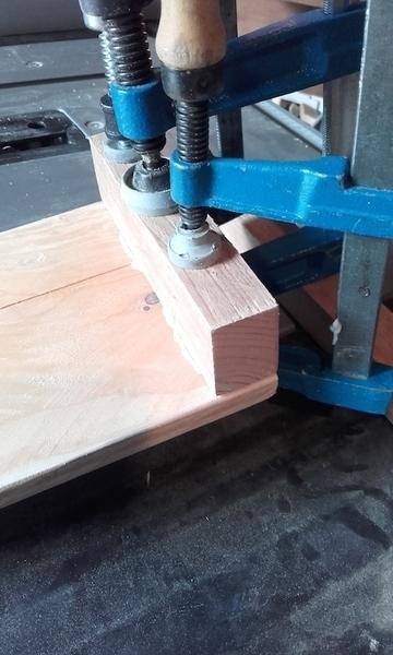 Tablette d'appoint en bois pour canapé-Support journaux