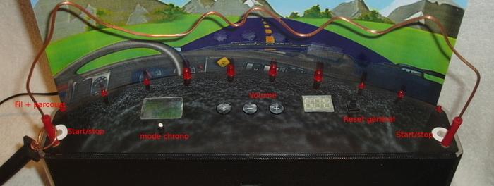 Parcours électrique-Fabriquer la base - 1 -
