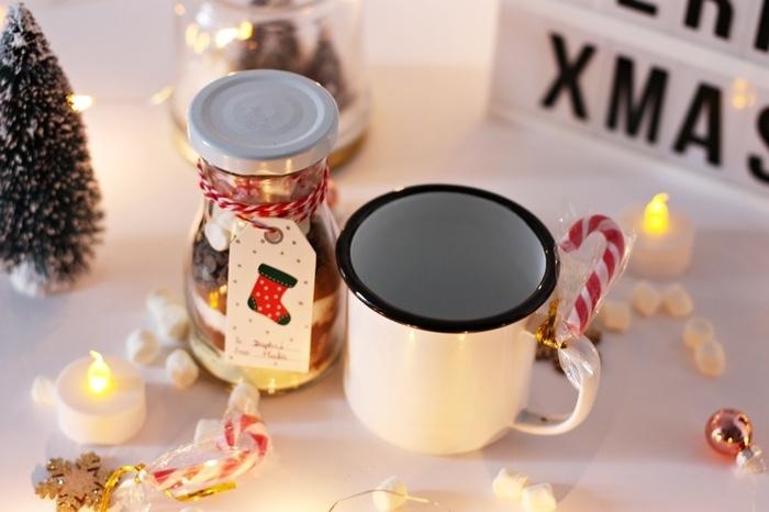Un kit pour chocolat chaud-Résultat