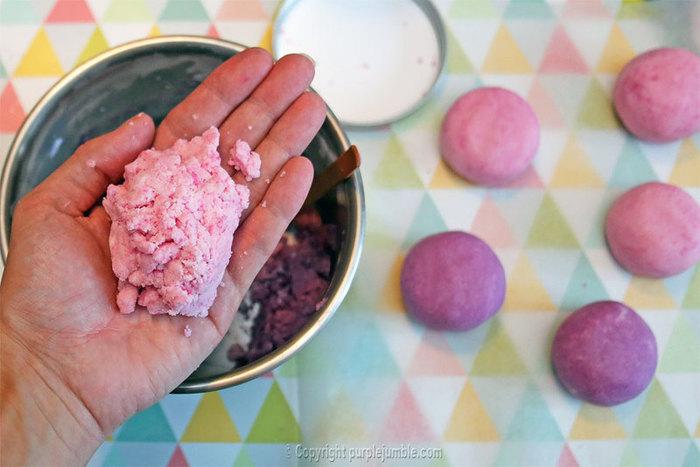 Des boules de bain à offrir-Confectionner les boules de bain
