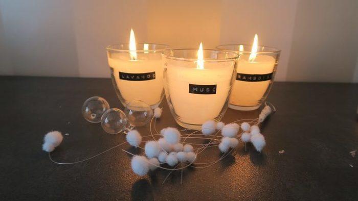 DIY – Les bougies vintage-Création des bougies