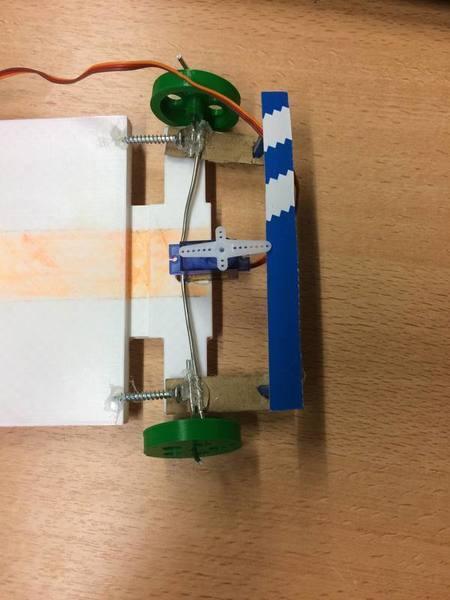 CarHand Project : ARPMR( Assistant Robotisé pour Personne à Mobilité Réduite )-Montage Final : Direction et moteur