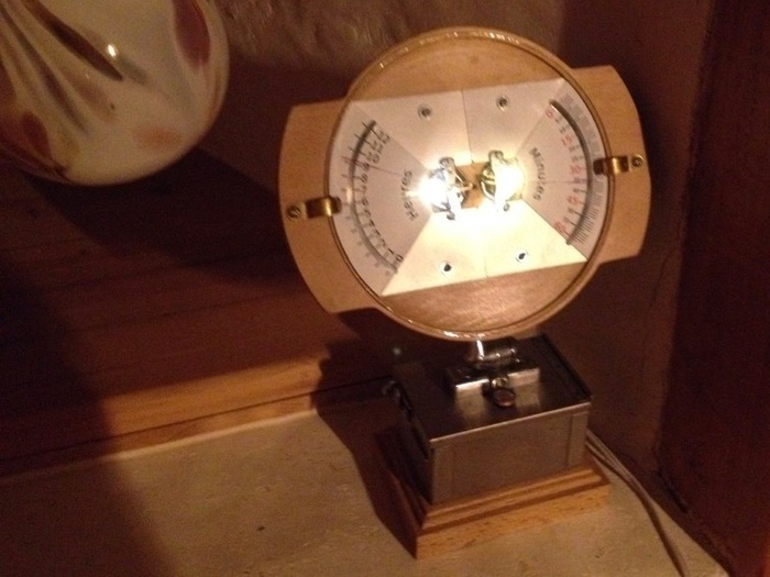 Une horloge à galvanomètres-Mise en route... et après ?