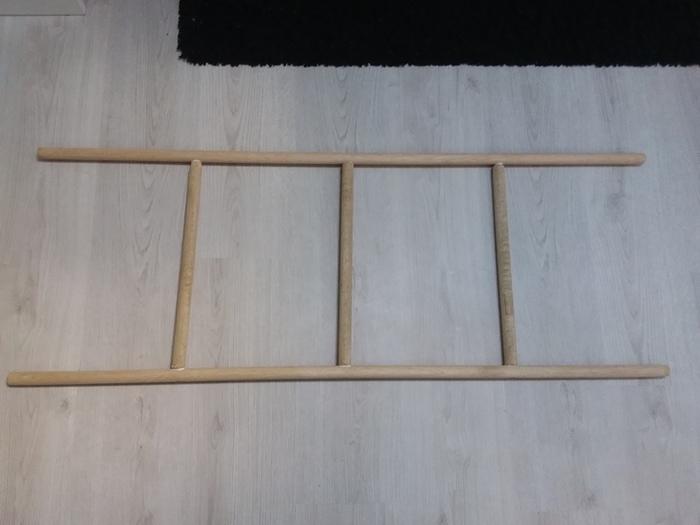 Une échelle porte-serviettes-L'assemblage
