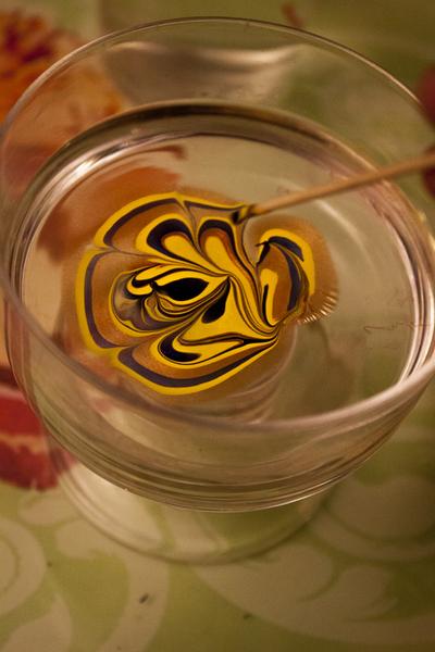 Macaron Fimo effet marbré-Etape 2