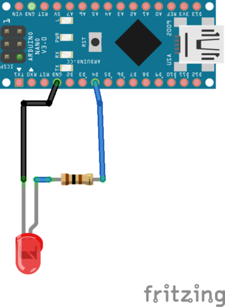 Télécommande Universelle Arduino-Utiliser une simple LED avec une carte Arduino