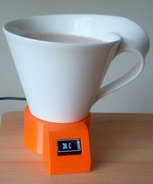 Assistant de température pour boissons chaudes-V. Assemblage final